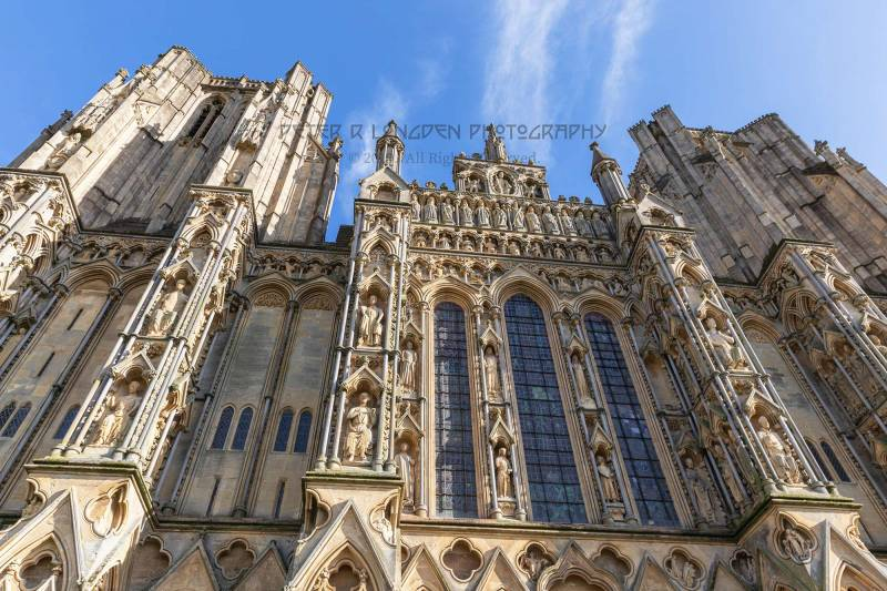 Wells Cathedral, Medieval Sculptures