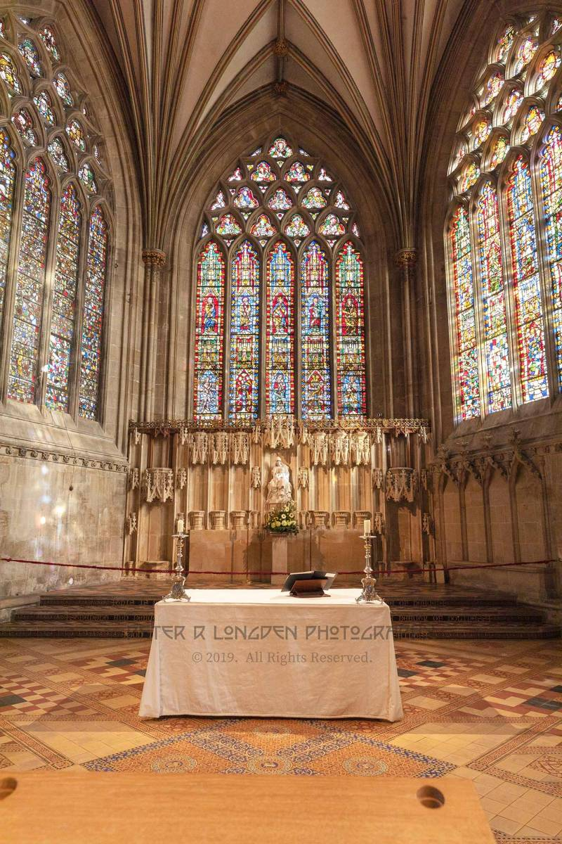 Wells Cathedral, the Lady Chapel