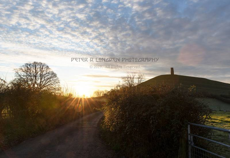 Sunrise in Stone Down Lane