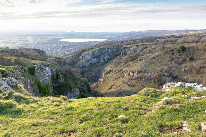 Above Cheddar Gorge