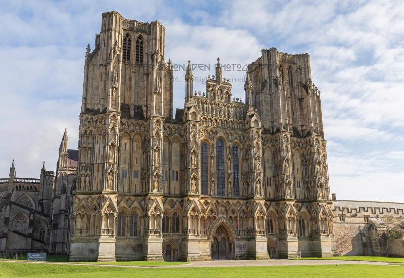Wells Cathedral, the West Front